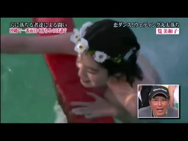 【話題】超人気グラドル 筧美和子のHカップ爆乳がポロリで放送事故!?