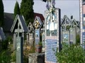 サプンツァ村の陽気な墓